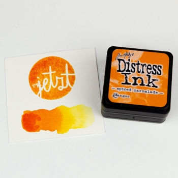 Distress Ink – Spiced Marmalade