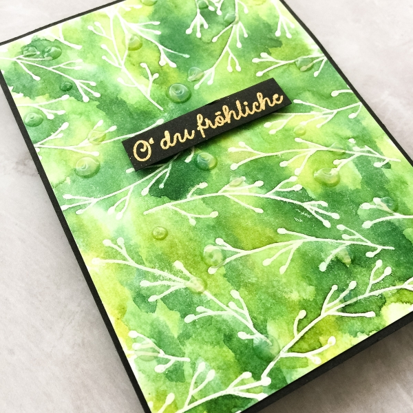 Distress Watercolor Cardstock