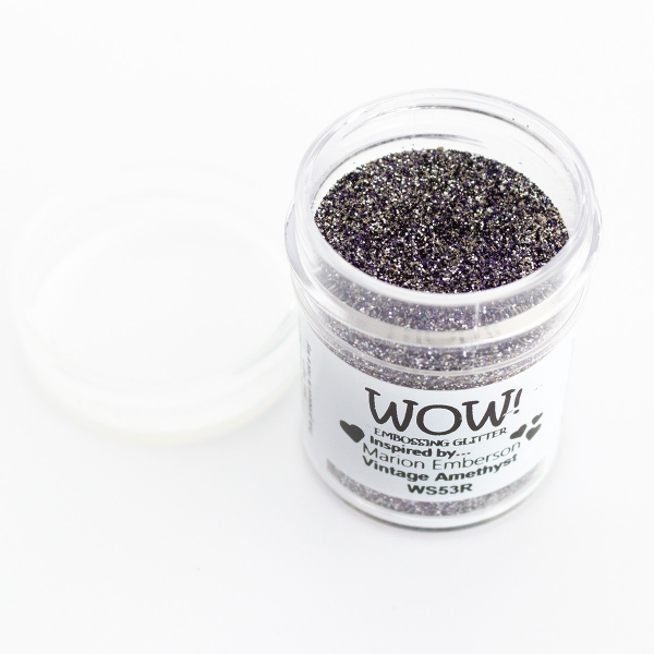 Embossing Powder - Vintage Amethyst